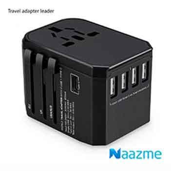 4 USB Port Travel Adapter AD-11