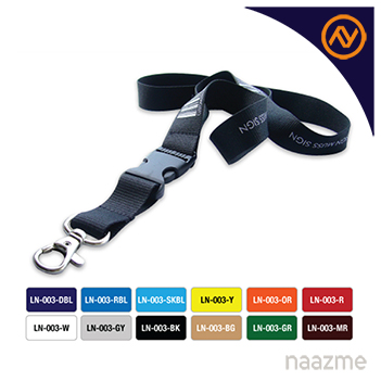 lanyards with safety hook and buckle dubai