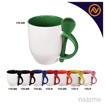 mug with spoon dubai