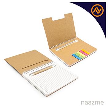 notebook with sticky note dubai
