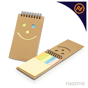 notepad with sticky note uae