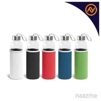 promotional bottle with color sleeve dubai
