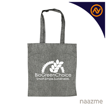 recycled cotton shopping bags dubai