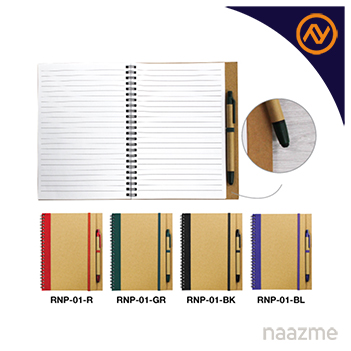 recycled notepad with pen dubai