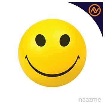 smiley face anti stress ball dubai