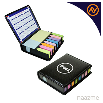 sticky note and pad with leather case dubai