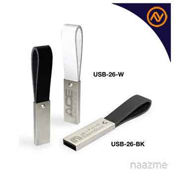 usb flash drives with leather strap dubai