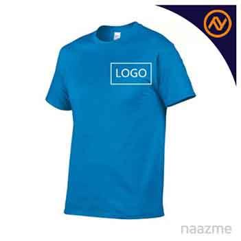 blue round neck tshirt dubai
