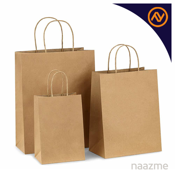 brown kraft bags dubai