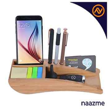 desk organizer wooden dubai