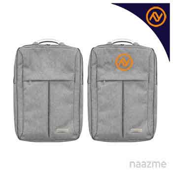 grey backpack bag dubai
