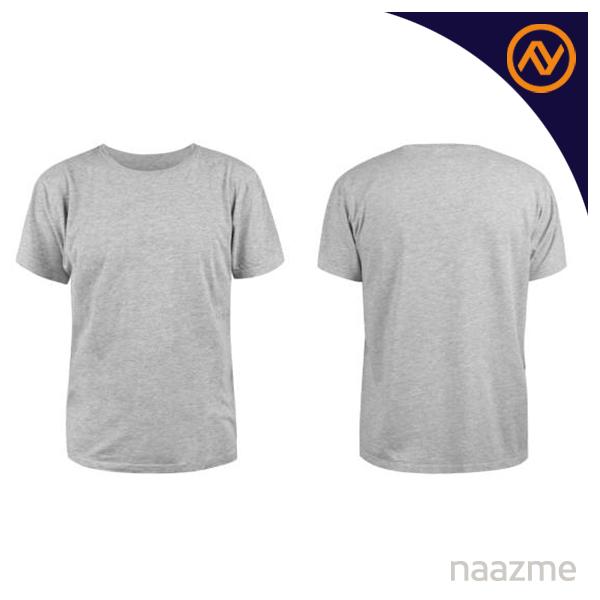 grey round neck tshirt dubai