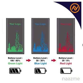 light up logo color changing power bank dubai