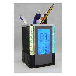 pen holder with digital clock dubai uae