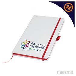 red and white pu notebooks dubai
