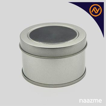 round metal box dubai