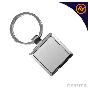 square metal keychain dubai