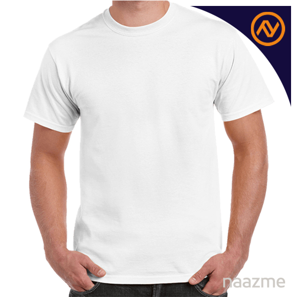 white round neck tshirt dubai