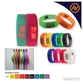 wristband with watch dubai