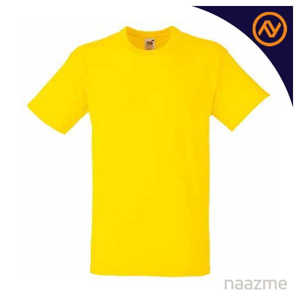 yellow round neck tshirt dubai